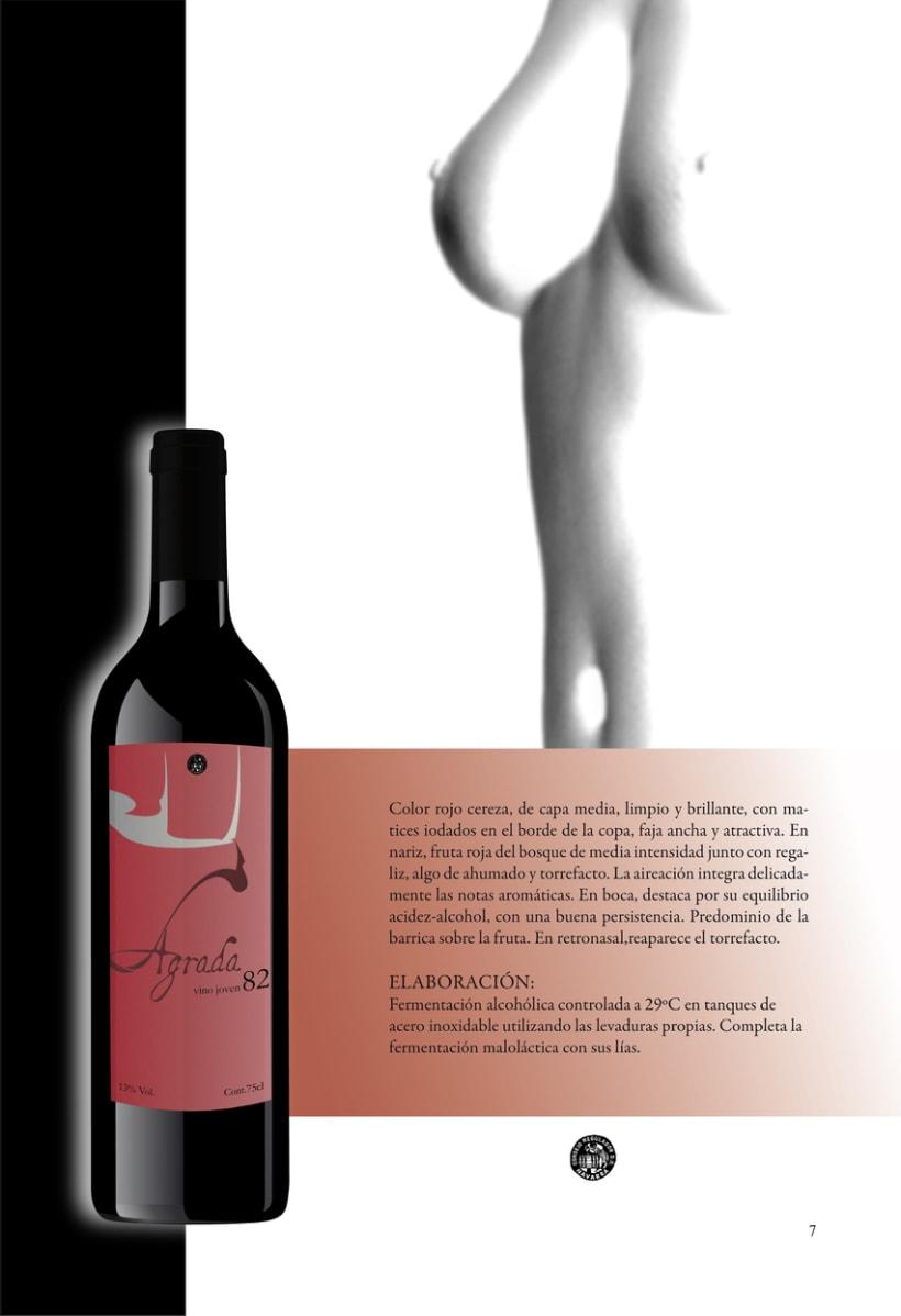 Catálogo para vinos 12