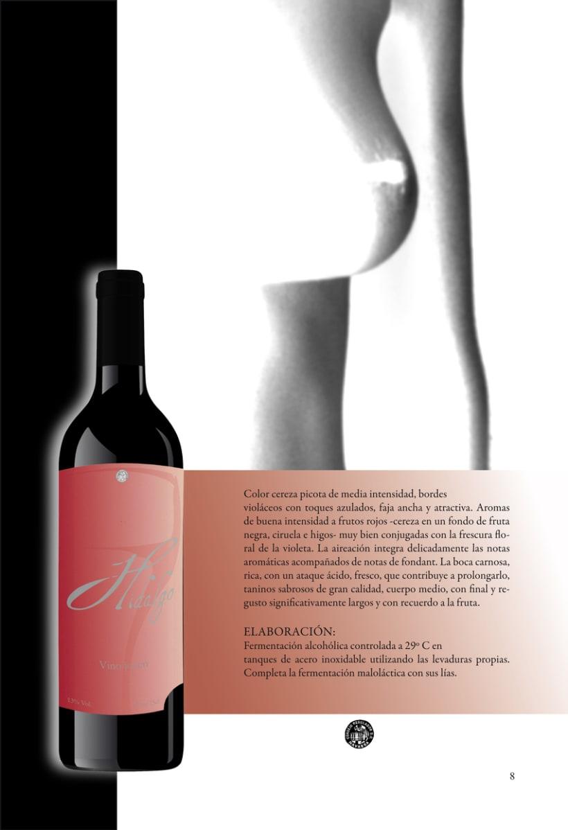 Catálogo para vinos 13