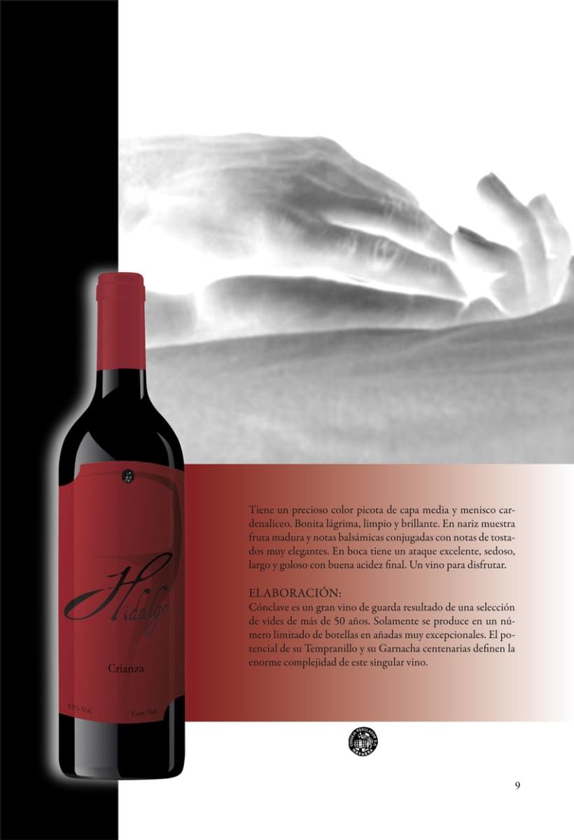Catálogo para vinos 14