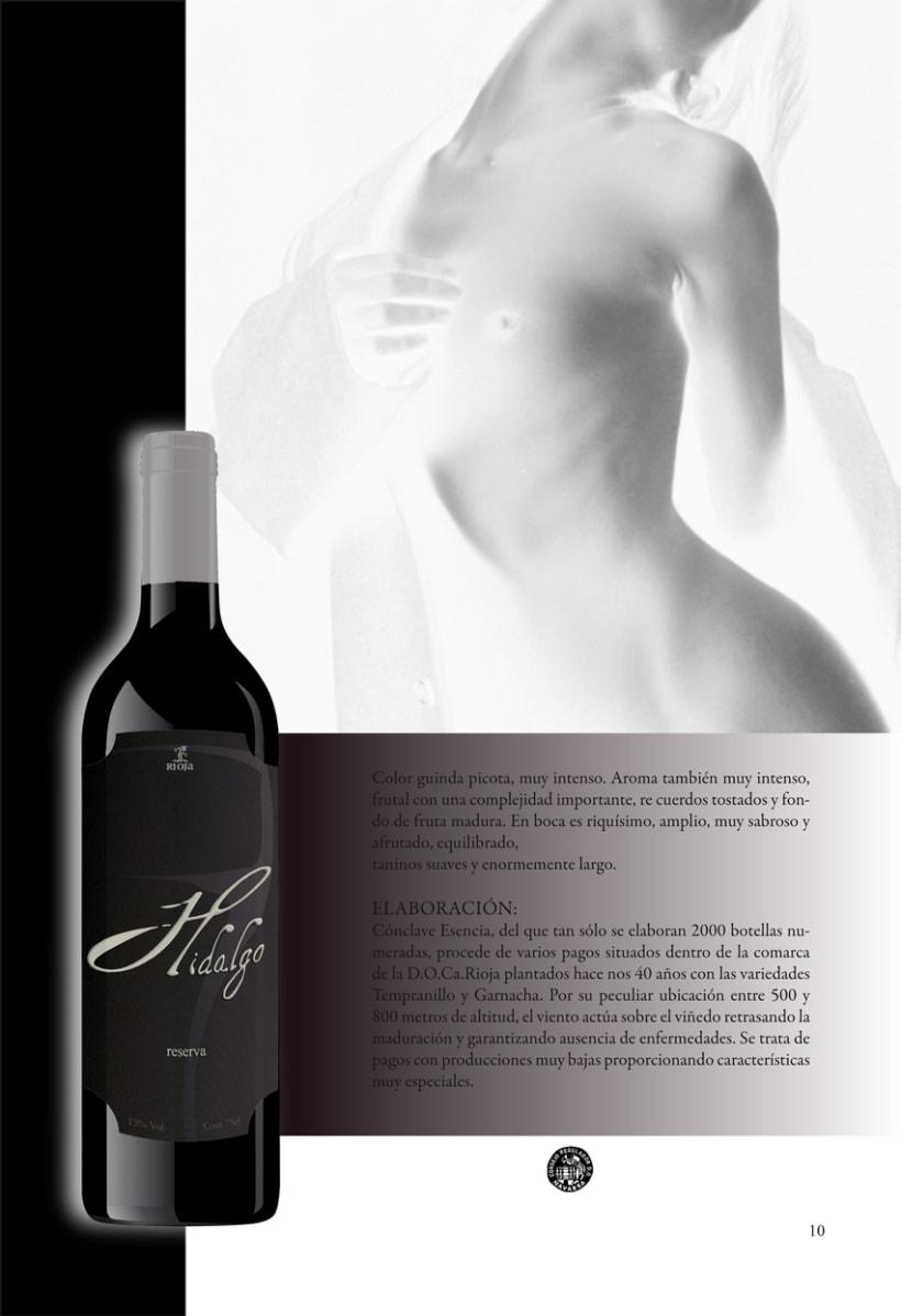 Catálogo para vinos 15