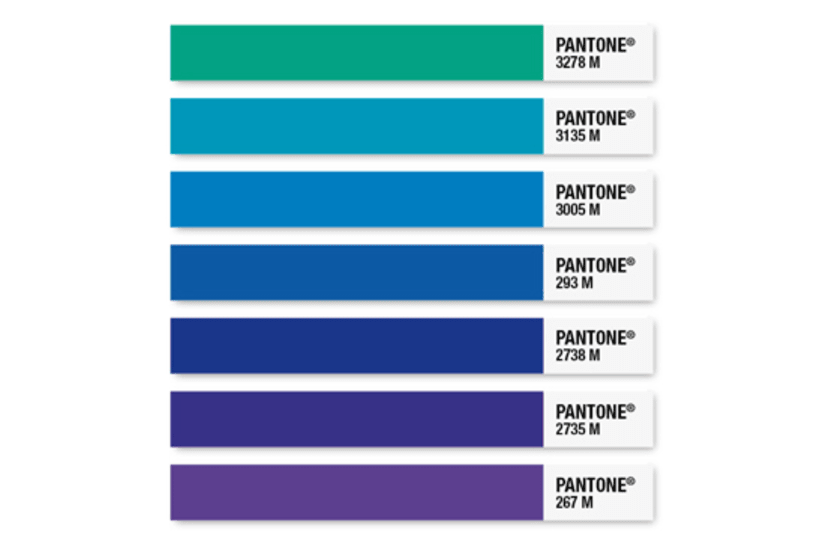 """Pantone Wayfinding"" 8"