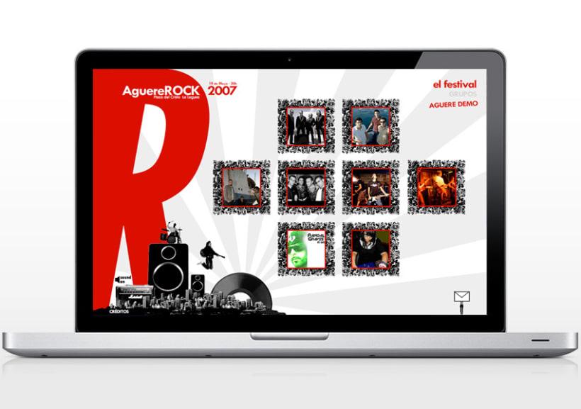 Web AguereRock 2