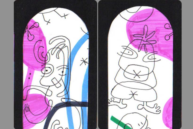 Cartas, juego de las parejas. 8