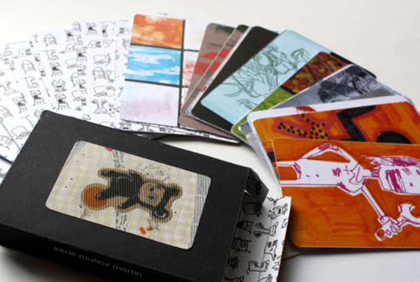 Cartas, juego de las parejas. 4