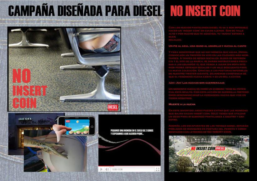 Diesel. NO INSERT COIN. 1