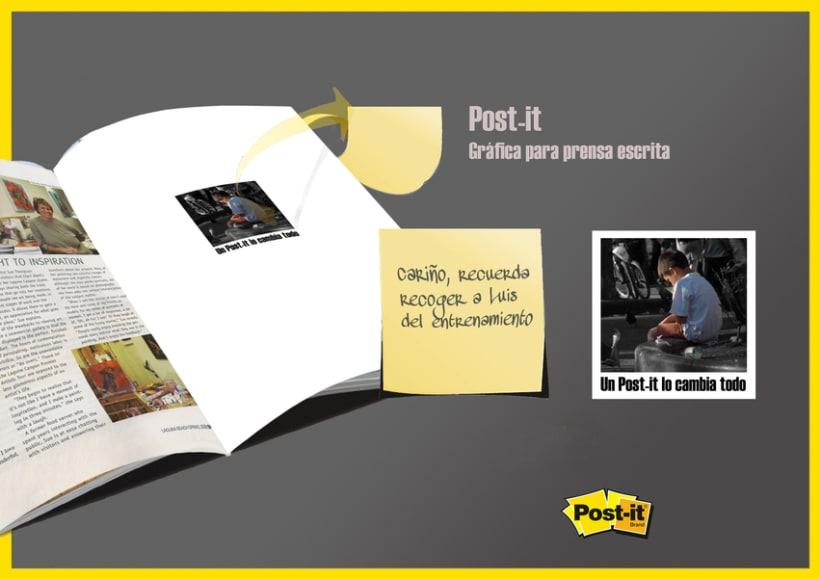 Post-it. Un post-it lo cambia todo. 2
