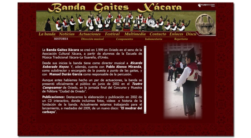 Banda Gaites Xácara 15