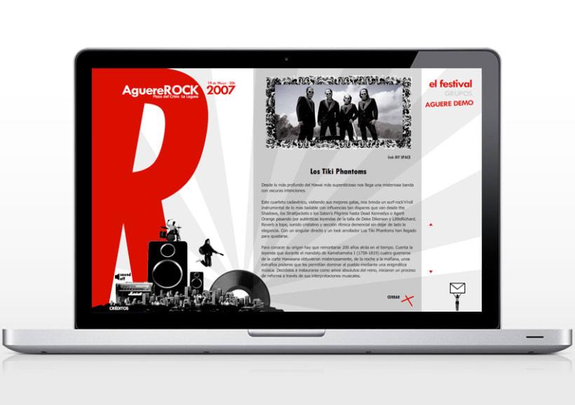Web AguereRock 3
