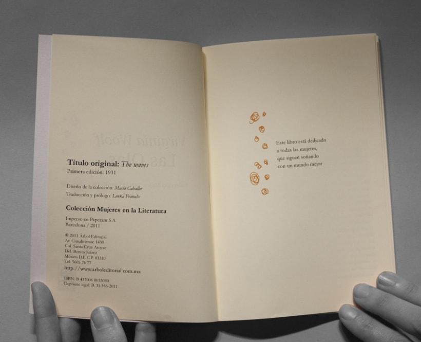 Colección de libros // Mujeres en la Literatura 8