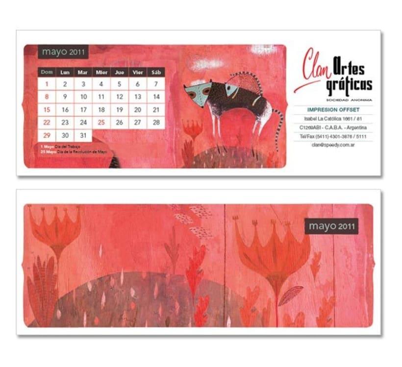 Calendario ilustrado 3