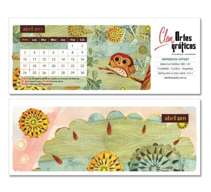Calendario ilustrado 2
