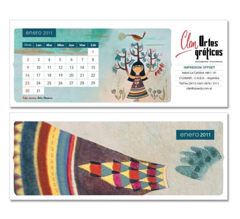 Calendario ilustrado 1