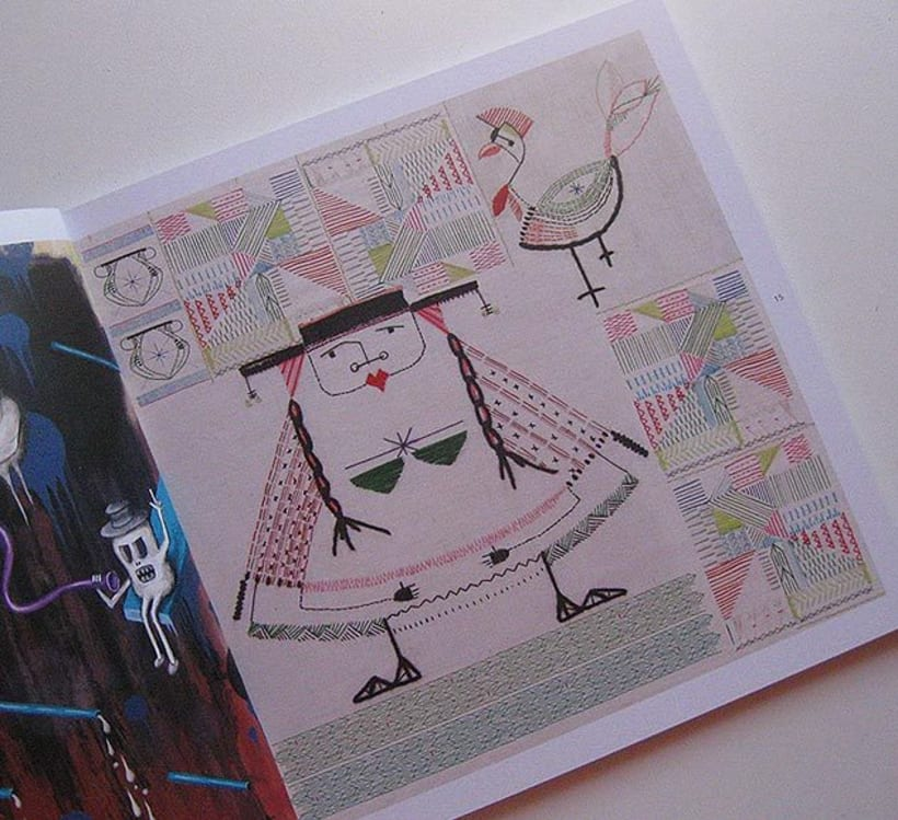 Participacion en Anuario de Ilustradores 1