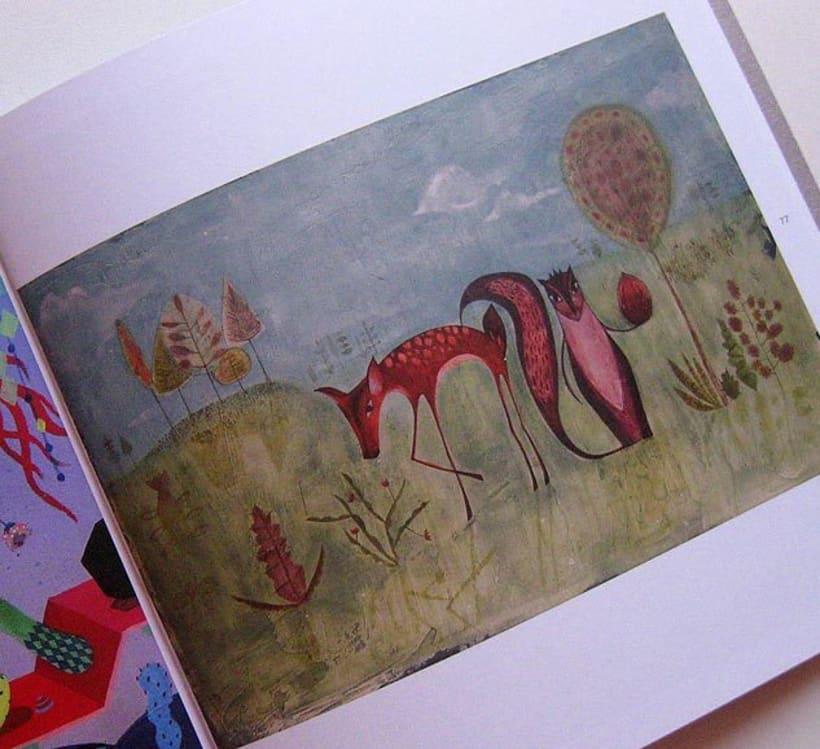 Participacion en Anuario de Ilustradores 2
