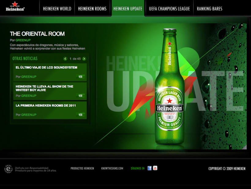 Hot Site Heineken 3