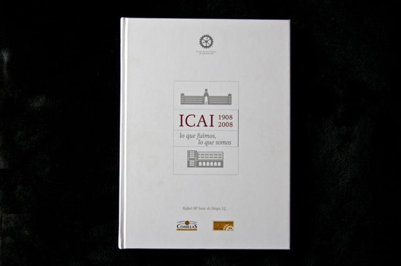 ICAI Diseño libro Centenario 1