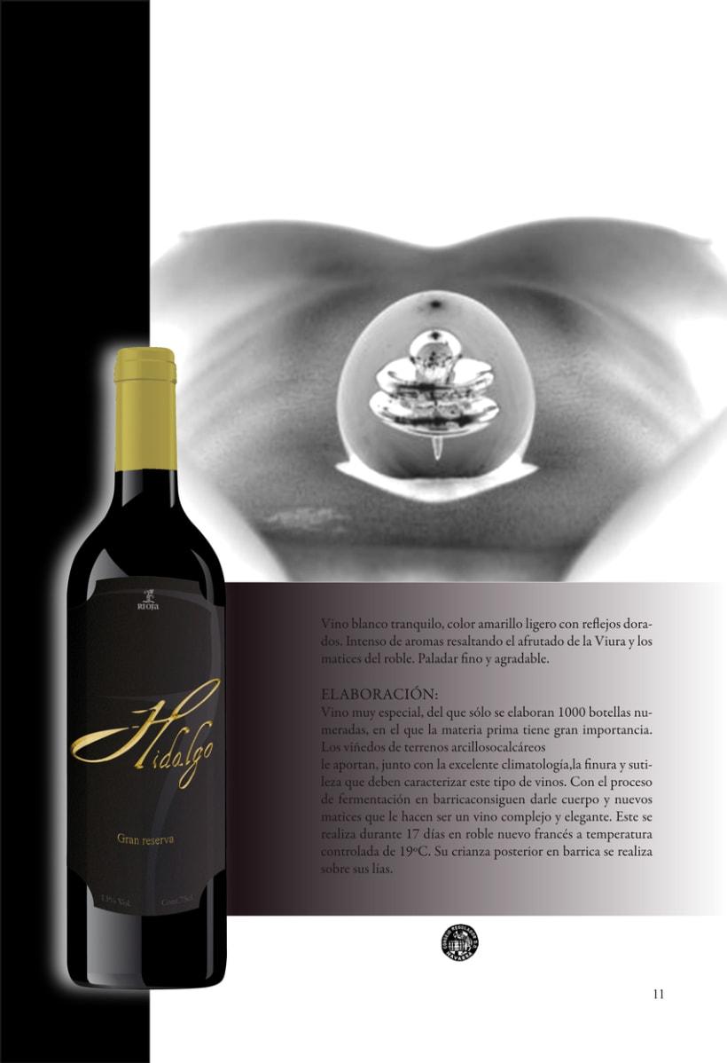 Catálogo para vinos 6