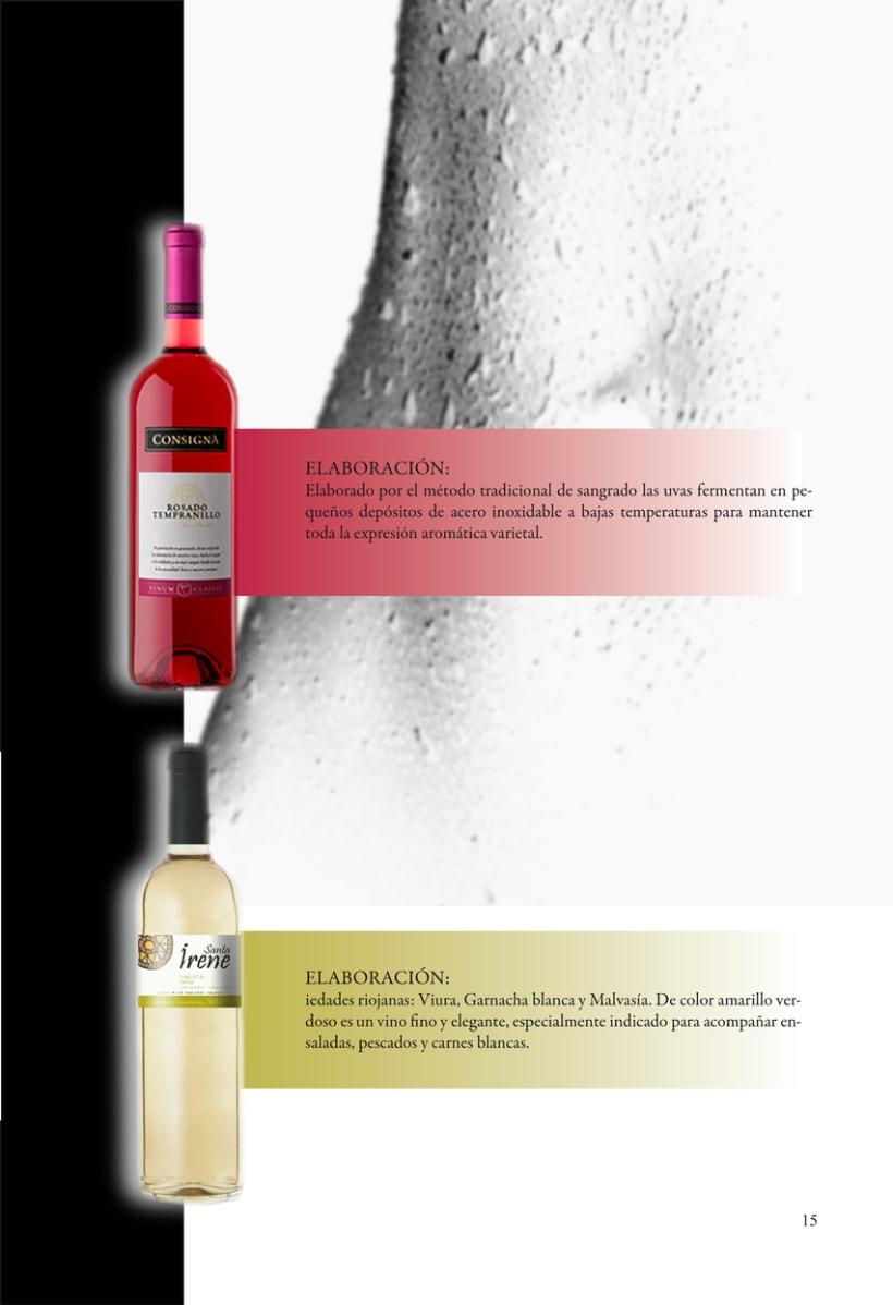 Catálogo para vinos 2