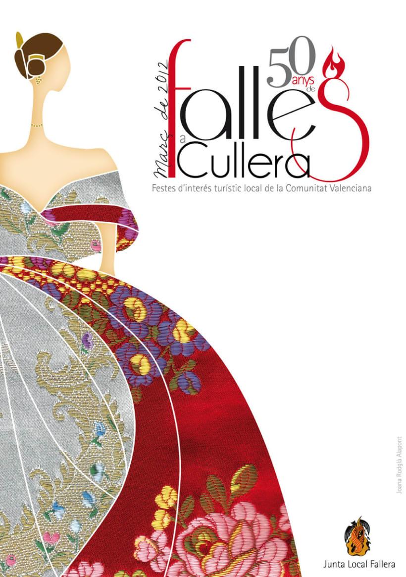 Cartel Anunciador Fallas Cullera 2012 1
