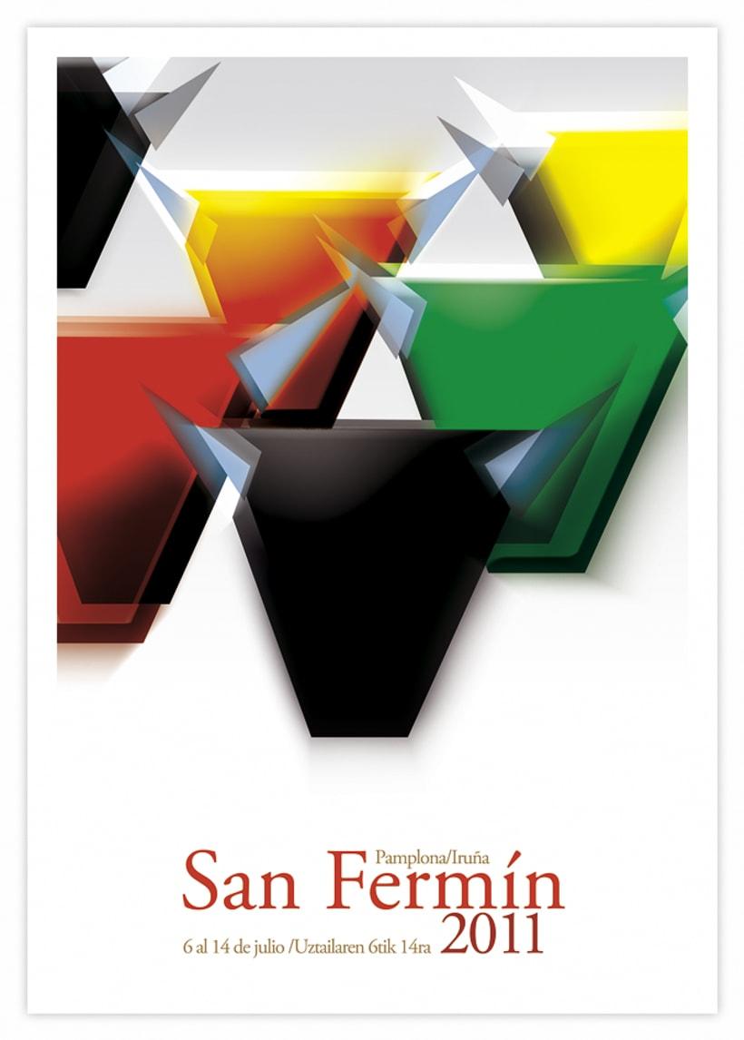 Cartel San Fermin 2011 2
