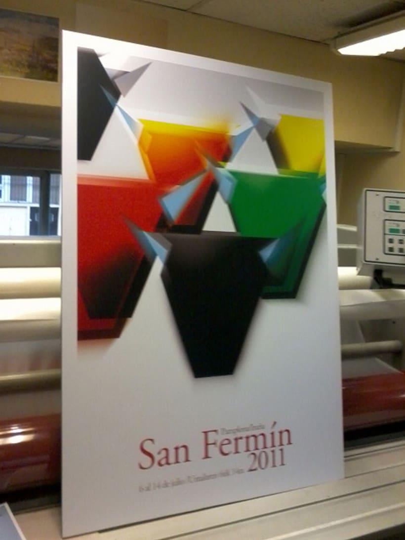 Cartel San Fermin 2011 4