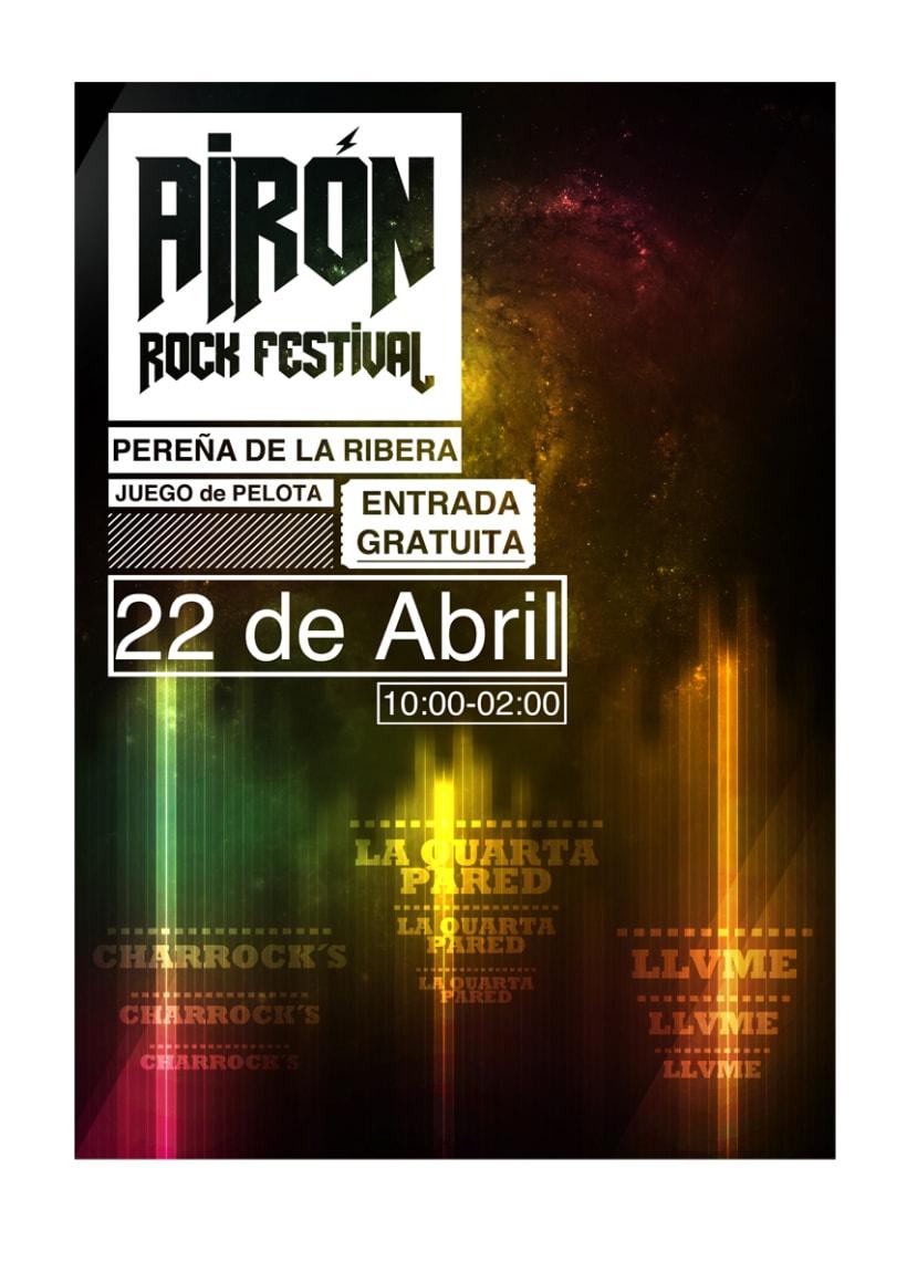 Airón rock festival 1