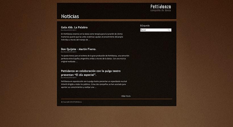 Sitio web Pettidanza 4