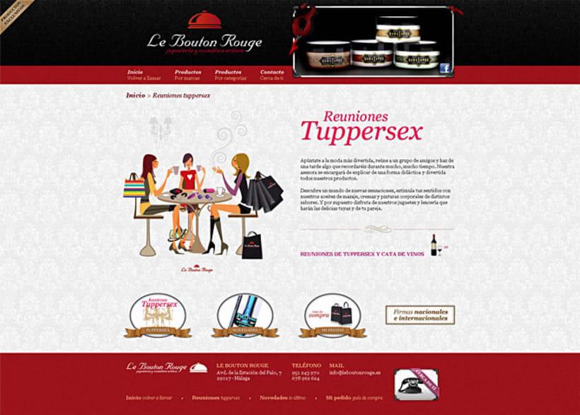 Sitio web Le Bouton Rouge 4