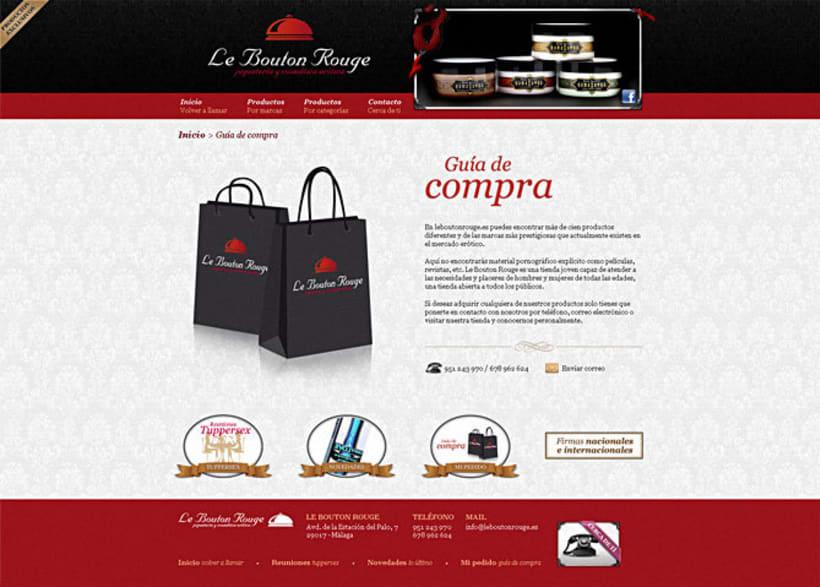 Sitio web Le Bouton Rouge 5