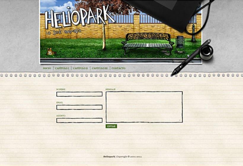 Sitio web Heliopark 3