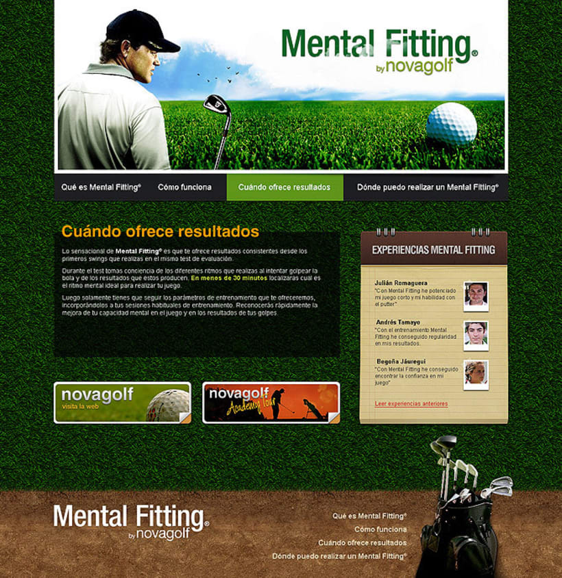 Sitio web Mental Fitting 2