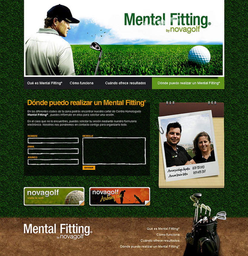 Sitio web Mental Fitting 3