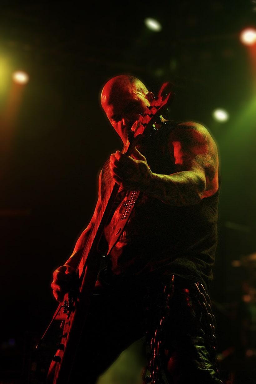 Slayer y Megadeth Madrid 28 de marzo 16