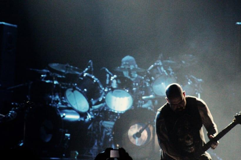 Slayer y Megadeth Madrid 28 de marzo 13