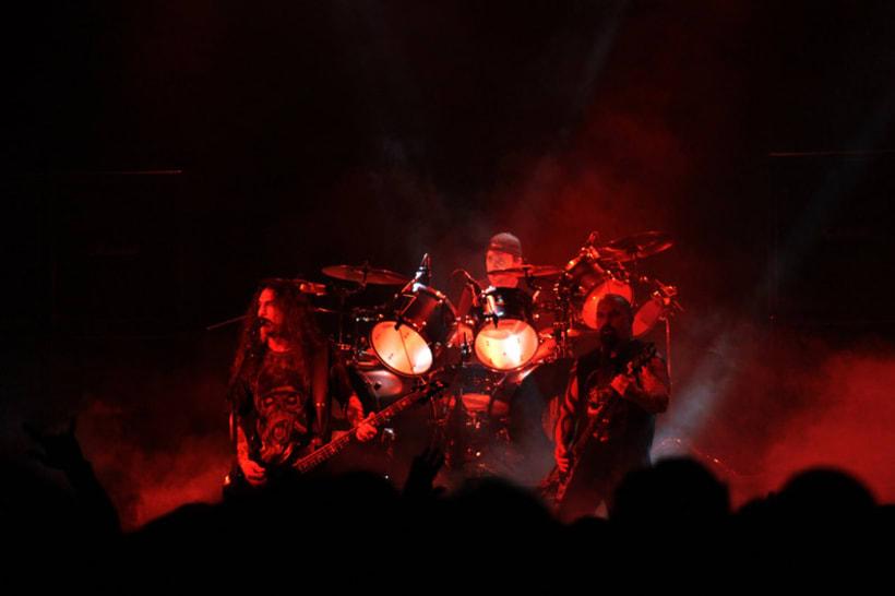 Slayer y Megadeth Madrid 28 de marzo 12