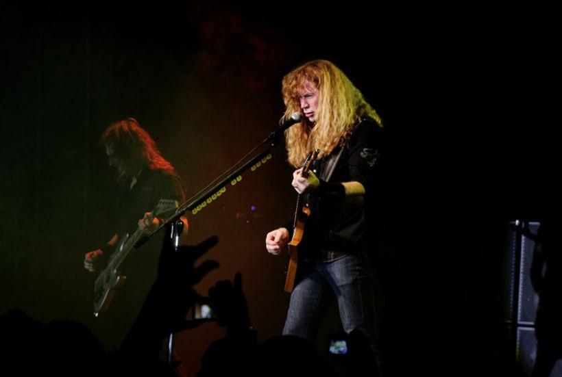 Slayer y Megadeth Madrid 28 de marzo 11