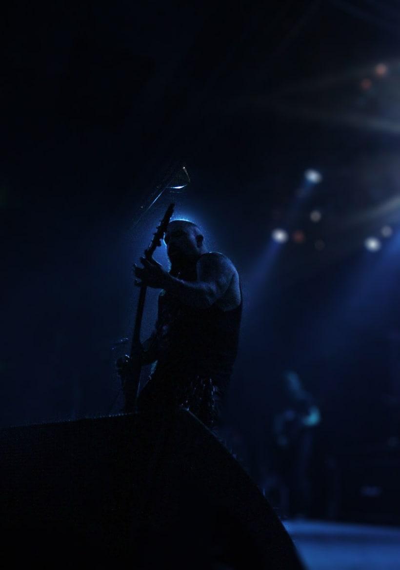 Slayer y Megadeth Madrid 28 de marzo 10