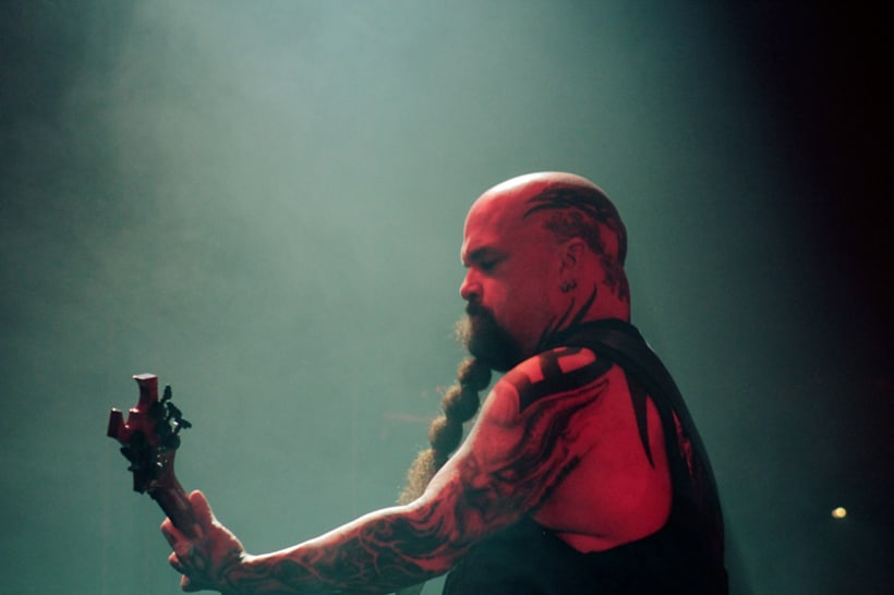 Slayer y Megadeth Madrid 28 de marzo 8