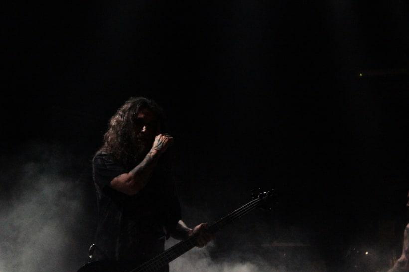Slayer y Megadeth Madrid 28 de marzo 7