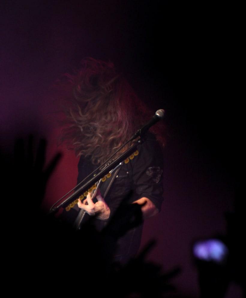 Slayer y Megadeth Madrid 28 de marzo 5