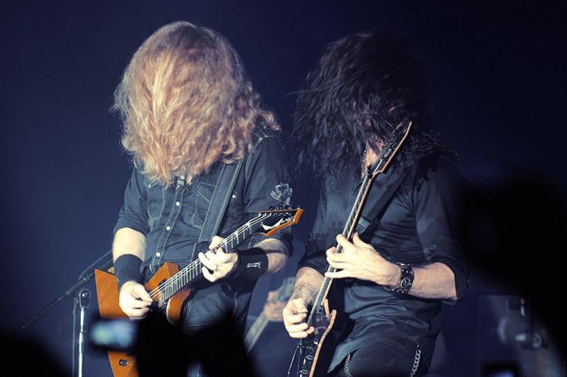 Slayer y Megadeth Madrid 28 de marzo 4