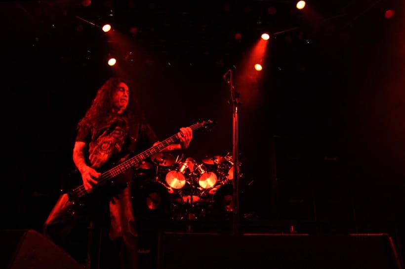 Slayer y Megadeth Madrid 28 de marzo 3