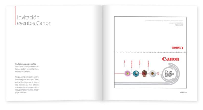 Manual de eventos Canon 9