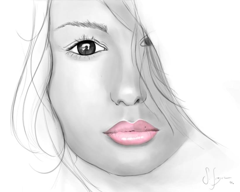 Pink lips 1