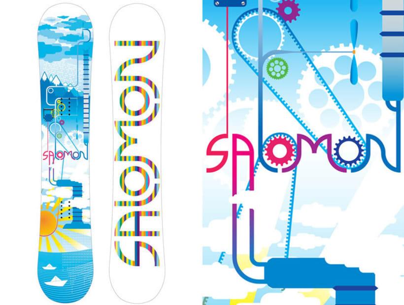 Snowboard design 1