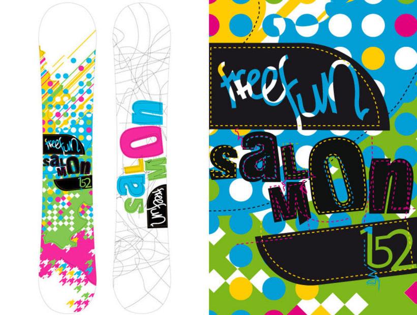 Snowboard design 2