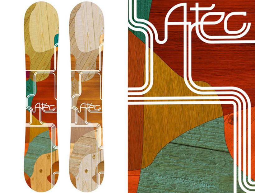 Snowboard design 3