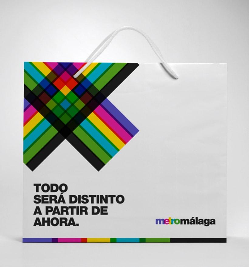 Metro Málaga. Proyecto personal de Marca y Sistema de Identidad. Comunicación y gestión de marca. 24