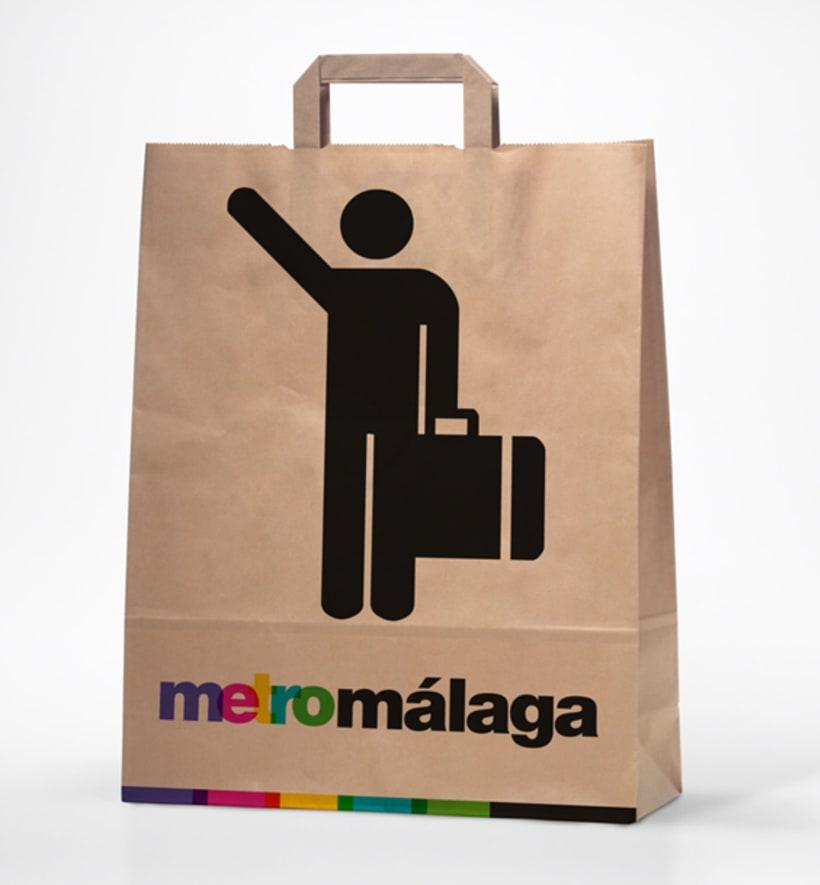 Metro Málaga. Proyecto personal de Marca y Sistema de Identidad. Comunicación y gestión de marca. 23