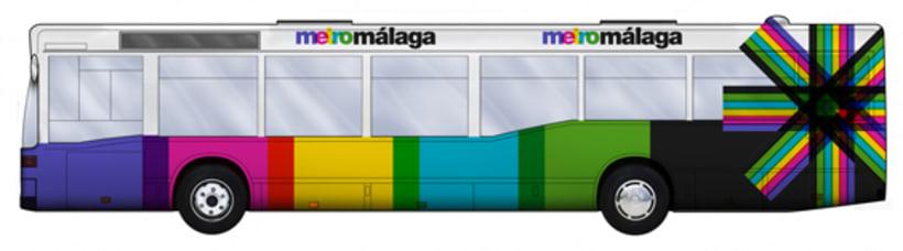 Metro Málaga. Proyecto personal de Marca y Sistema de Identidad. Comunicación y gestión de marca. 21